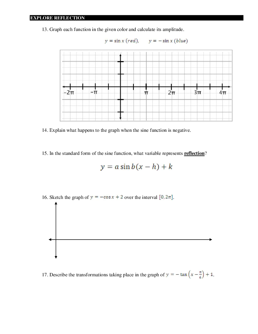 trigonometry review worksheet Termolak – Trigonometry Review Worksheet