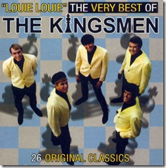 The Kingsmen - The Very Best Of - front