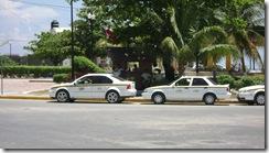 Sitio Taxi du Parc Central de Puerto Morelos