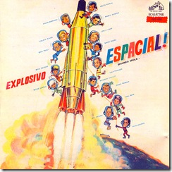 CD VARIOS Explosivos Espacial (1992) Front