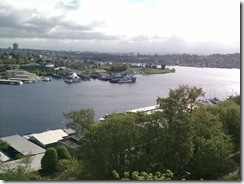 lake union from aurora bridge