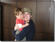 1st henry bday - he loves aunt katie
