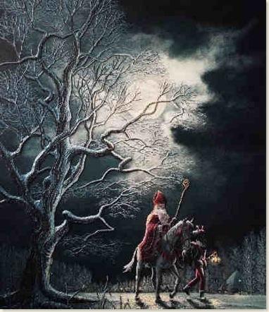 00 Sinterklaas op zijn paard