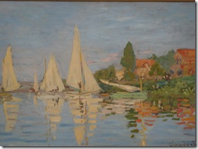 impressionist sailboats