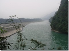 The River Min, Dujiangyan