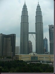 KL - view from hotel room