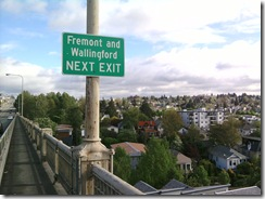 welcome to wallingford from aurora bridge