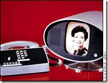 an early videophone from AT&T